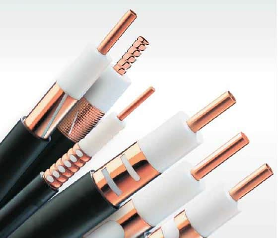radio frequency systems RFS coaxial cables, CELLFLEX® and CELLFLEX® Lite, dragonskin, HELIFLEX®