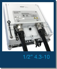 """JMA Wireless 1/2"""" 4.3-10 factory made jumpers"""