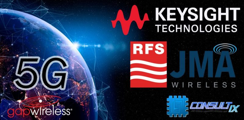 5G experts Keysight, RFS, JMA Wireless, Wavecontrol, ThinkRF