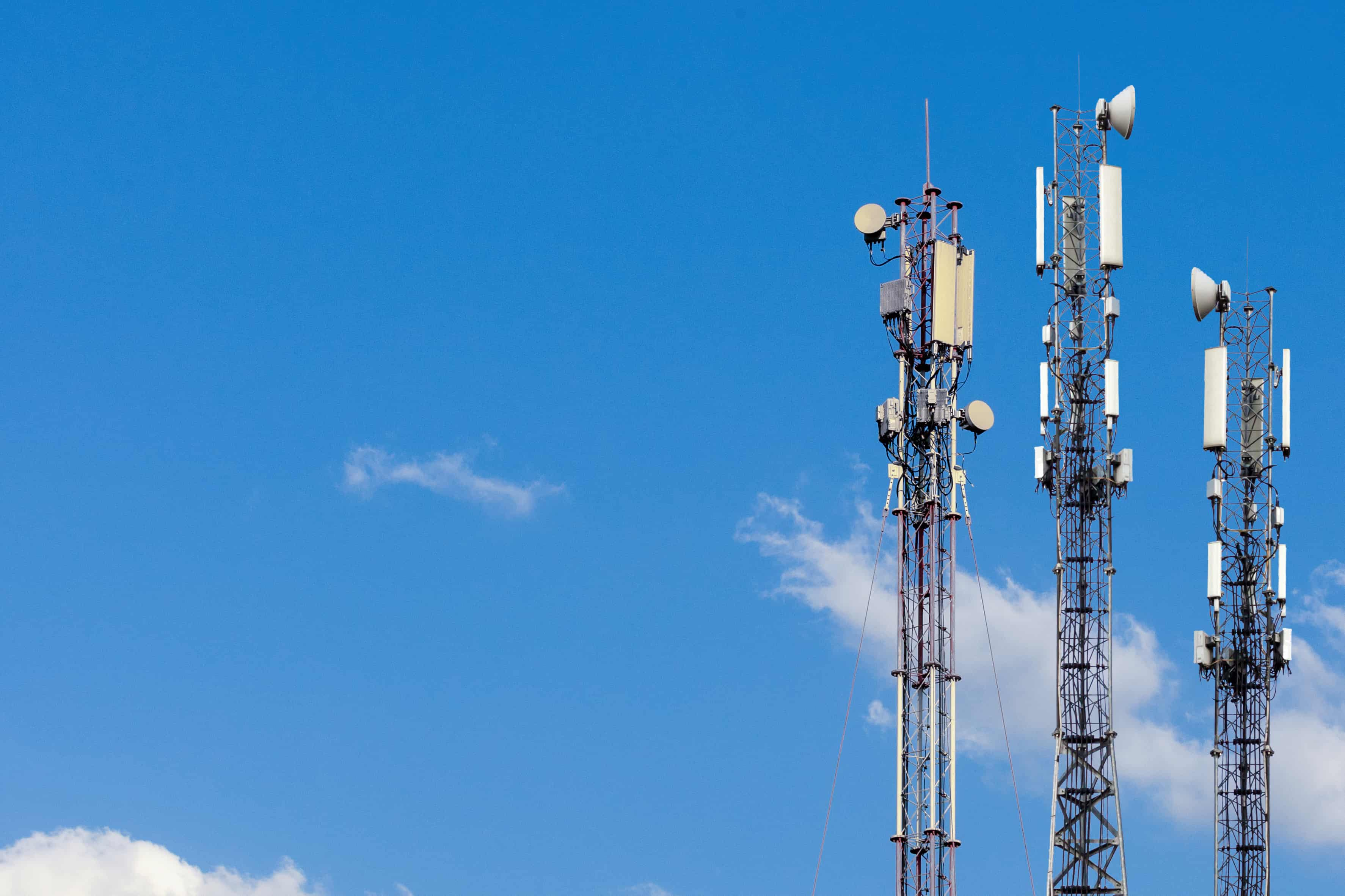 5G MIMO cell tower