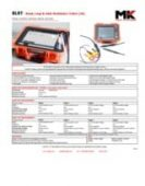 MK Test Systems Ltd. BLRT 1kHz Specification (Bond, Loop and Joint Resistance Tester) product data sheet