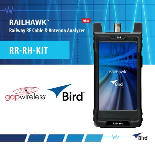 Bird RAILHAWK™ Railway RF Cable & Antenna Analyzer Bird RR-RH-KIT