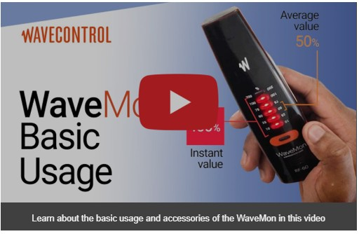 Introduction and basic usage of WaveMon Personal RF Monitor