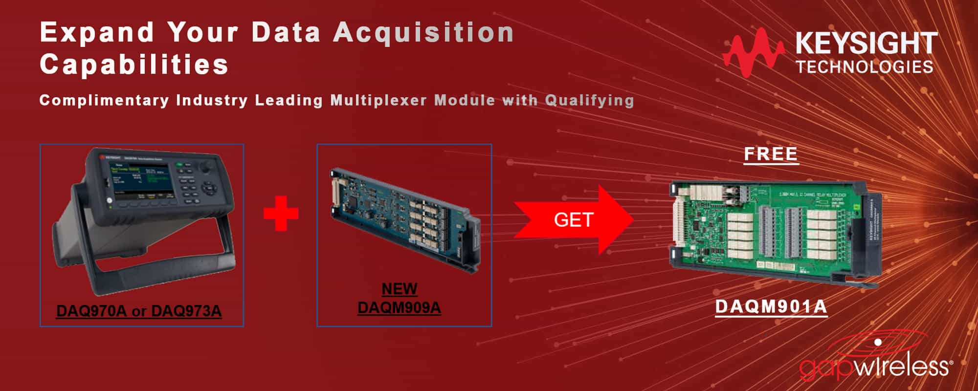 Expand Your DAQ Capabilities Promotion Keysight