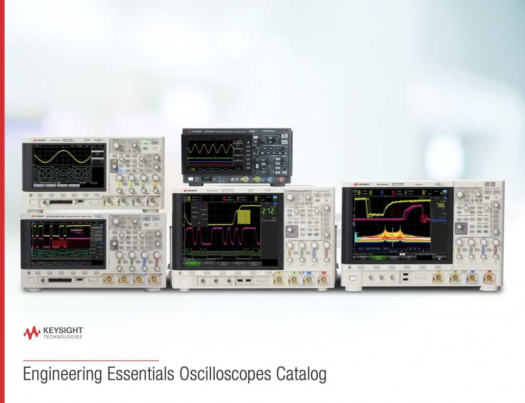 Keysight Engineering Essentials Oscilloscopes Catalog