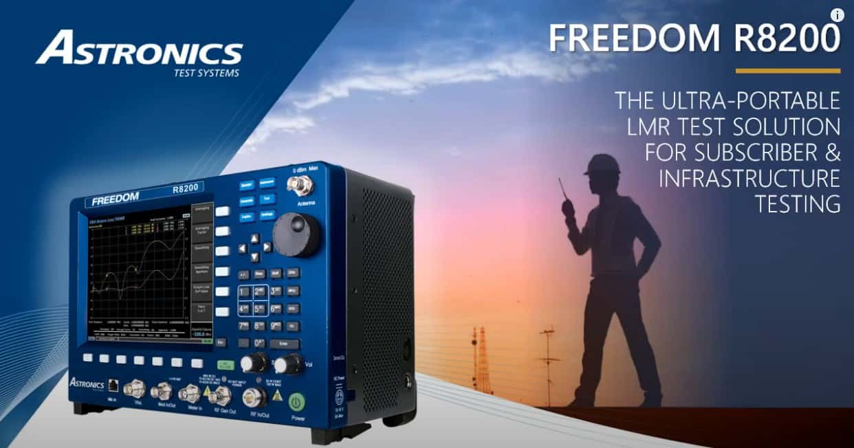 Freedom R8200 Product Info Astronics Test Systems