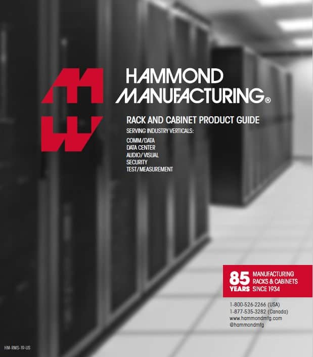 Hammond Manufacturing Rack And Cabinet Guide Cover