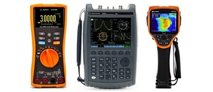 Keysight Fieldfox Handheld Oscilloscopes, Analyzers, Meters available at Gap Wireless