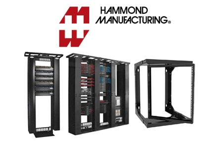 Home Page Featured Products Hammond Manufacturing Racks and Cabinets
