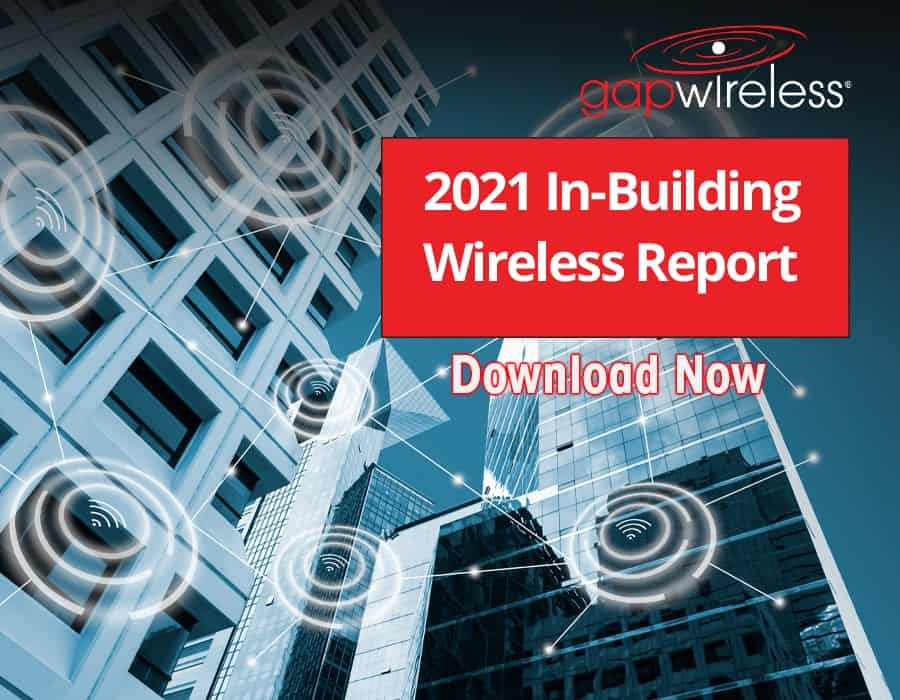 2021 In-Building Wireless Report Cover Image