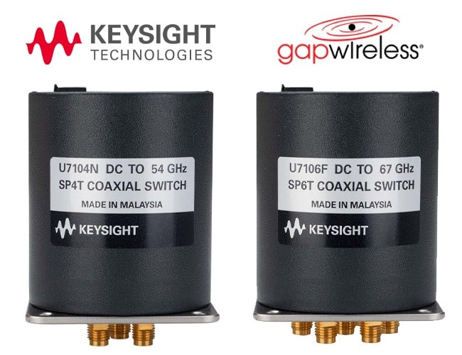 Keysight U7104 U7106 SP4T / SP6T Multiport EM Switches