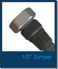 "JMA Wireless 1/2"" factory made jumpers"