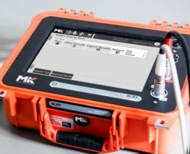 MK Test Systems Portable automatic electrical test systems BLRT1