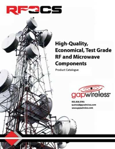 RFOCS Catalogue RF Parts, Coaxial components and Microwave Components