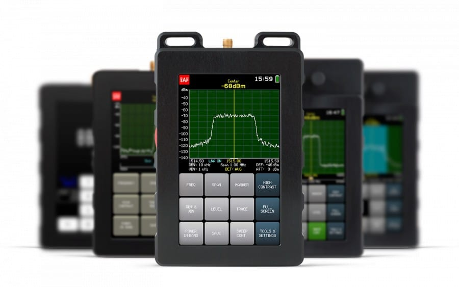 SAF 5G Spectrum analyzers handheld
