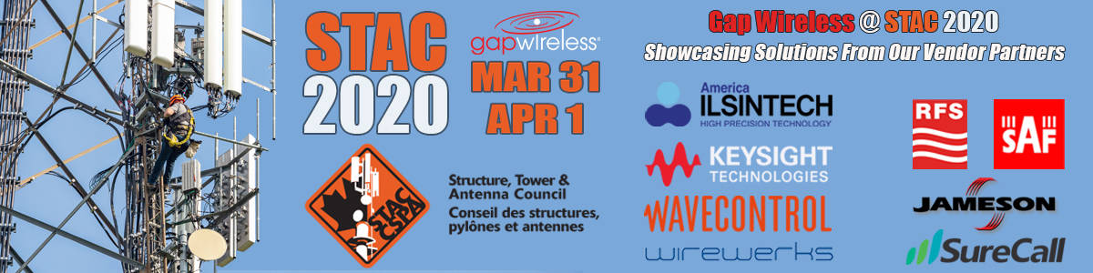 STAC 2020 Conference & Exhibition Gap Wireless