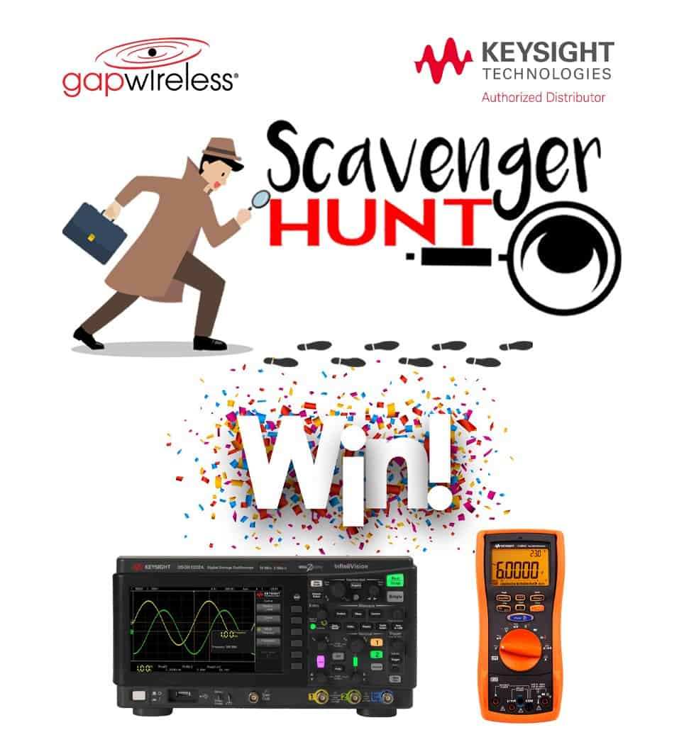 Scavenger Hunt Keysight