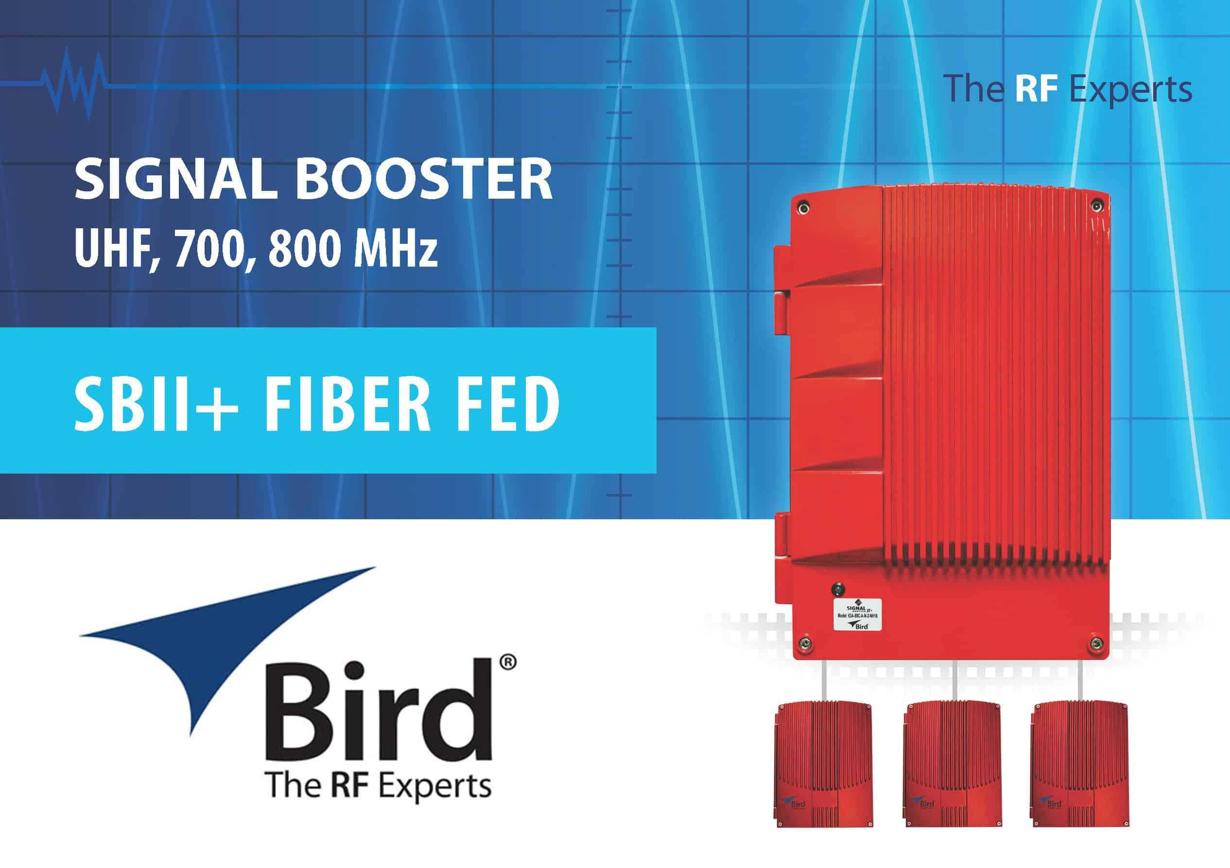 Bird Technologies Fiber Fed Signal Booster II+