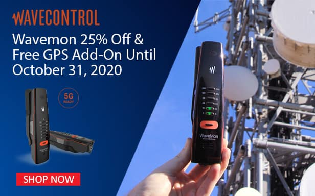 Wavemon wavecontrol RF-60 promo