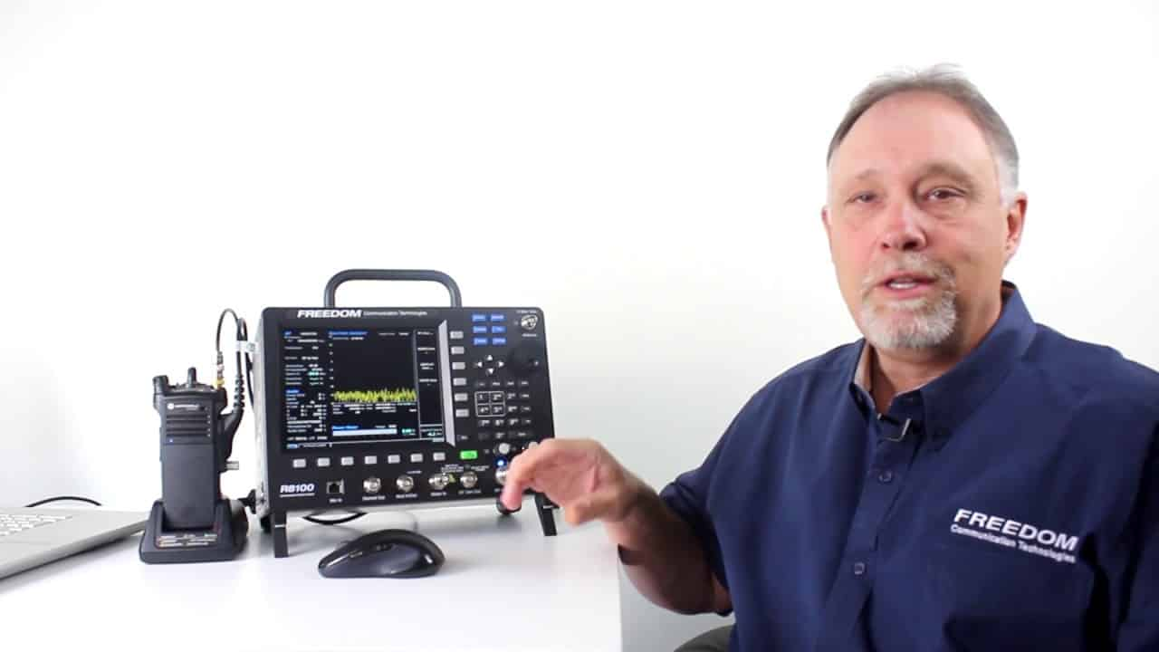 Freedom Communication Technologies 8100 R8100 has all the functionality and test capabilities of our industry-standard R8000 communications system analyzer, but also features an internal battery, premier ergonomics and suite of advanced features that are optional on the R8000.