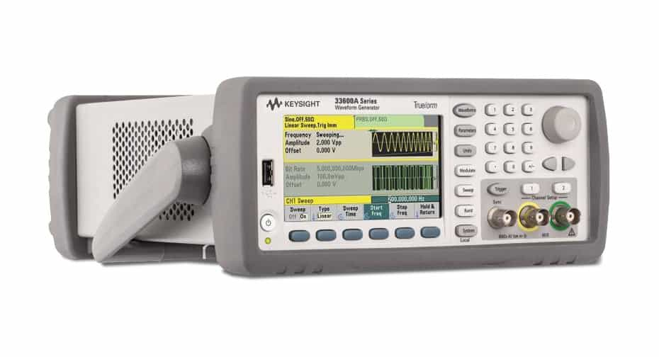 keysight 33611A Waveform Generator, 80 MHz, 1-Channel available for purchase at gap wireless