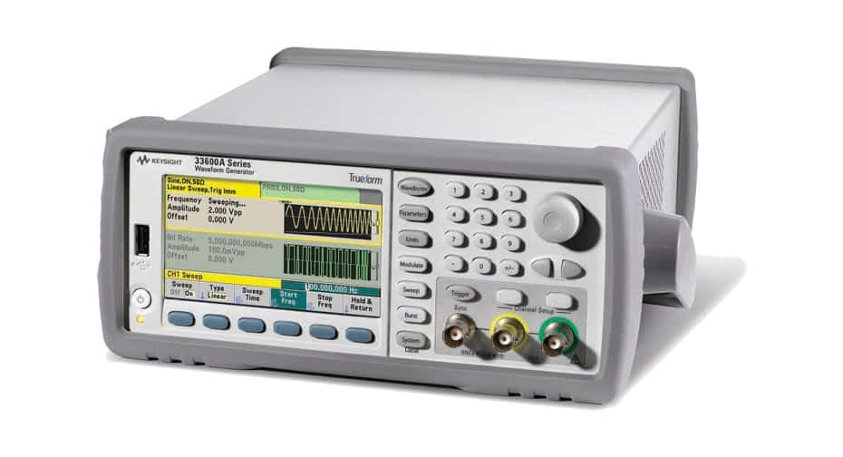 keysight 33622A Waveform Generator, 120 MHz, 2-Channel available for purchase at gap wireless