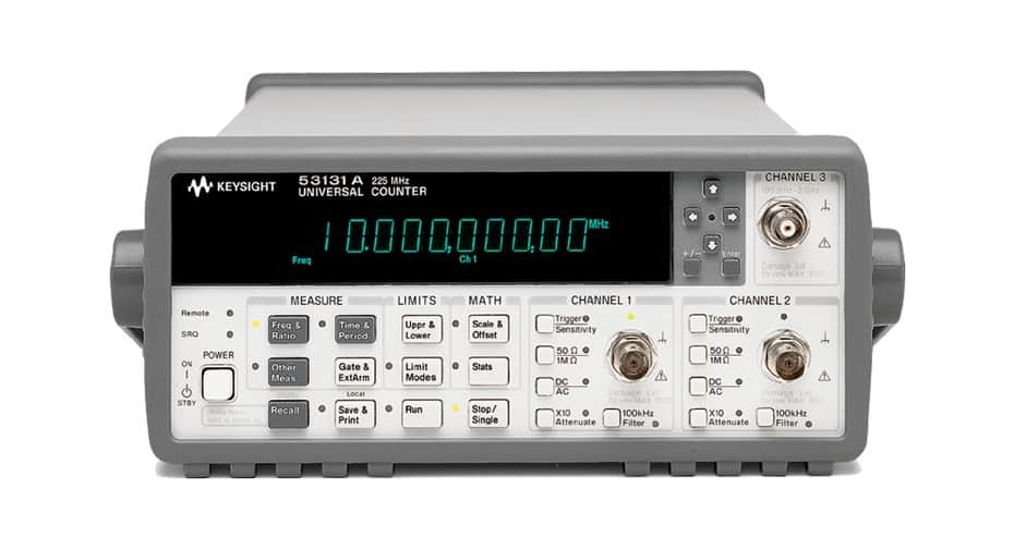 keysight universal frequency counter 225 MHz available for purchase at gap wireless