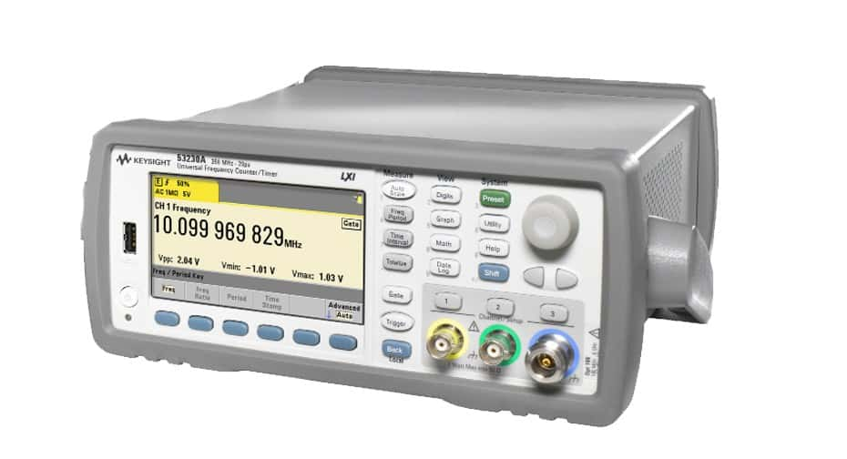 keysight universal frequency counter available for purchase at gap wireless