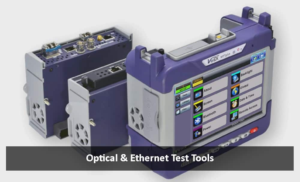 Network Cable Testers & Fiber Optic Testers