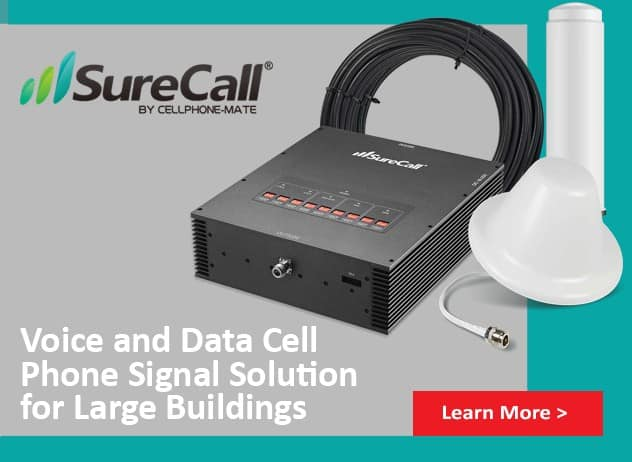 Surecall booster solutions at Gap wireless