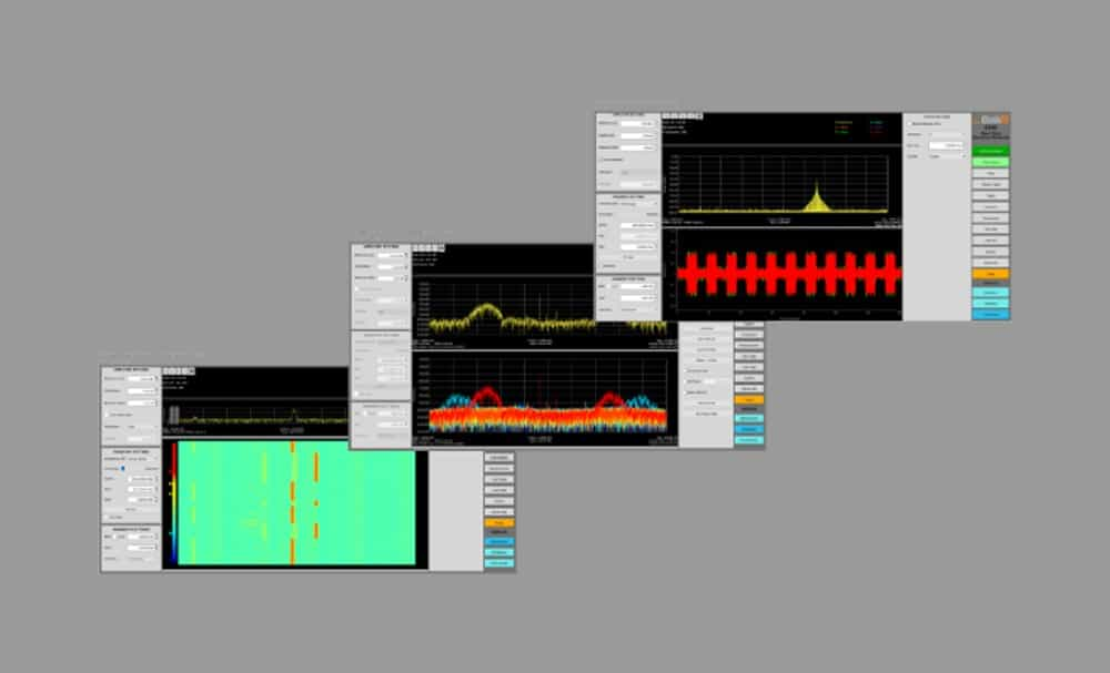 ThinkRF S240 Real-Time Spectrum Analysis Software screen 1